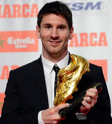 Messi 5-ci dəfə
